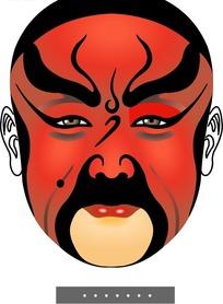 关羽《华容道》脸谱