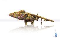 洗衣液创意广告--鲜花飞机
