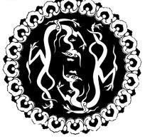 古典龙纹纹样图案矢量素材