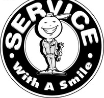 SERVICE WITH A SMILE微笑服务图标EPS矢量文件