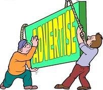 advertise广告图标EPS矢量文件