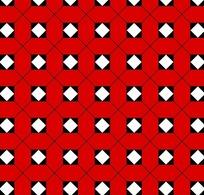 彩色方形四方连续图案