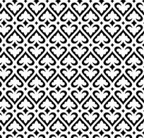 心形四方连续图片