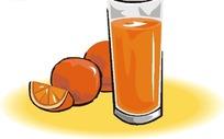 水果汁杯图片