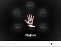 创意网站网页设计模板