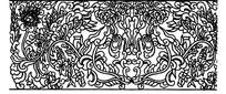 传统图案龙纹矢量素材