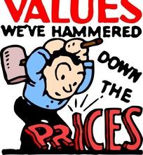 values价值标准图标EPS矢量文件