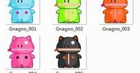 Gnagn可爱卡通图标PNG格式