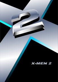 X战警2的标志