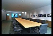 长方形大会议室3ds模型