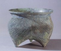 中国古代斜纹青铜器物图片