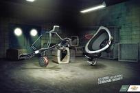 音响创意广告素材