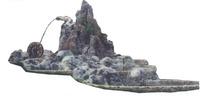 公园假山水景景观PSD素材