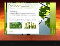 景观绿化设计网页模板