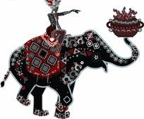 大象艺术画