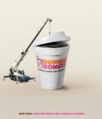咖啡创意广告