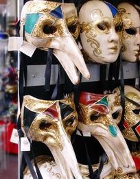 面具店的一些奇异面具