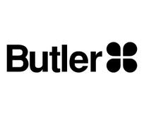 Butler标志矢量素材