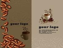 咖啡豆名片模板