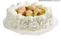 美味的水果奶油蛋糕(带PSD Mask抠图遮罩)