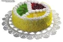 三种水果奶油蛋糕(带PSD Mask抠图遮罩)