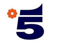 数字5矢量标志设计