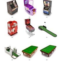 9款游玩城娱乐设施设计模型