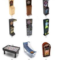 电玩城游戏机设施设计模型