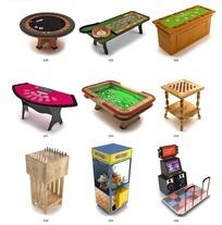 电玩城娱乐设施模型