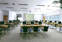 多功能会议教学大厅效果图