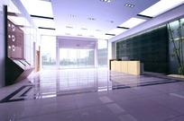 门厅模型图片素材