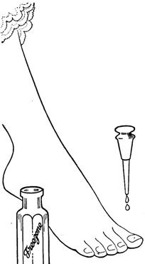抹指甲油的女人脚图片