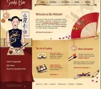 苏式料理网页模板