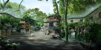绿荫森森的公园设计