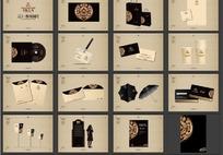 远大·橡树澜湾黑色古典VI设计
