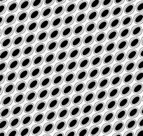 黑色圆点重复图案