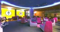 摄影店铺的营业接待厅3D效果图