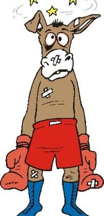 眼冒金星卡通_手绘躺在地上眼冒金星的老人矢量图_卡通形象