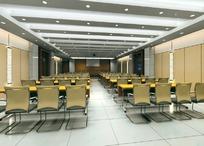 大型会议室 3Dmax效果图