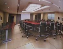 大型会议室效果图