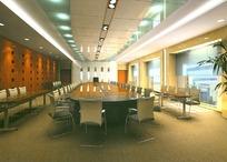 大型会议室 正面效果图