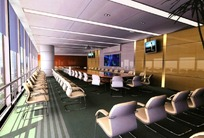 大型会议厅效果图
