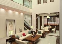 古典豪华客厅装饰设计效果图