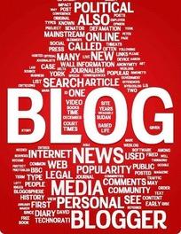 欧美创意纯文字排版博客网页设计模板