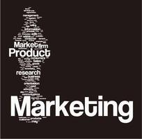 欧美创意纯文字排版市场主题网页设计模板