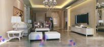 欧式温馨客厅3dmax模型