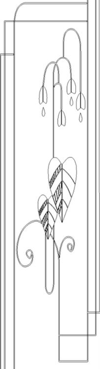 圆形欧式雕花图案设计模板