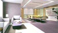 艺术型小型会议室 3D模型图