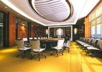 圆顶中型会议室 3D效果图