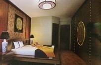 大气 庄重的 中式卧室3Dmax 模型文件